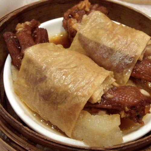 Beancurd Sheet Roll with Duck Feet