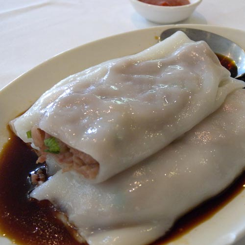 Rice Roll with Beef